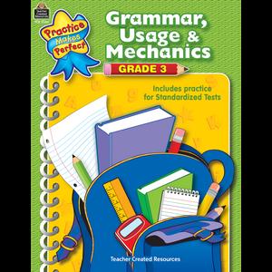TCR3346 Grammar, Usage & Mechanics Grade 3 Image