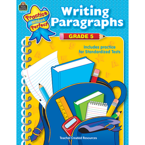 TCR3348 Writing Paragraphs Grade 5 Image