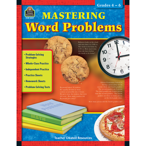 TCR3357 Mastering Word Problems Grades 4-6 Image