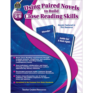 TCR3368 Using Paired Novels to Build Close Reading Skills Grades 5-6 Image