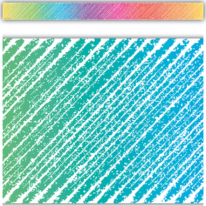 TCR3418 Colorful Scribble Straight Border Trim Image