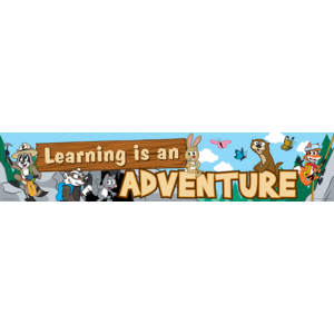 TCR3430 Ranger Rick Learning Is An Adventure Banner Image