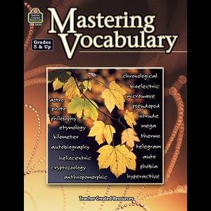 TCR3433 Mastering Vocabulary Image