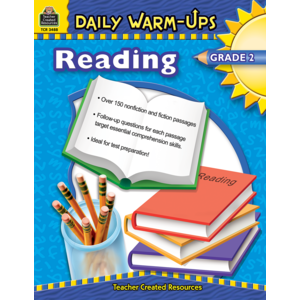 TCR3488 Daily Warm-Ups: Reading, Grade 2 Image