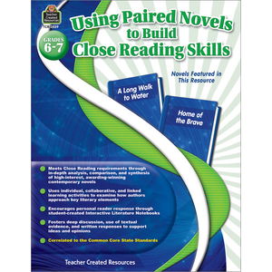 TCR3539 Using Paired Novels to Build Close Reading Skills Grades 6-7 Image