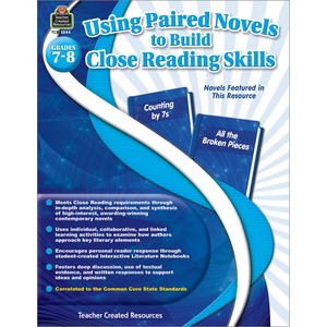 TCR3544 Using Paired Novels to Build Close Reading Skills Grades 7-8 Image