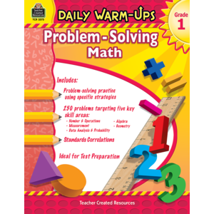 TCR3575 Daily Warm-Ups: Problem Solving Math Grade 1 Image