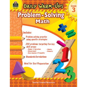 TCR3577 Daily Warm-Ups: Problem Solving Math Grade 3 Image