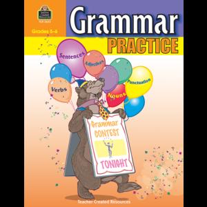 TCR3622 Grammar Practice for Grades 5-6 Image
