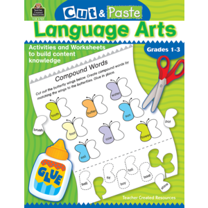 TCR3707 Cut and Paste: Language Arts Image