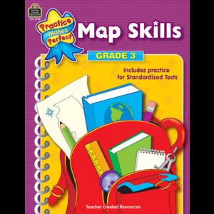 TCR3728 Map Skills Grade 3 Image