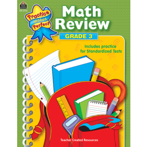 TCR3743 Math Review Grade 3 Image