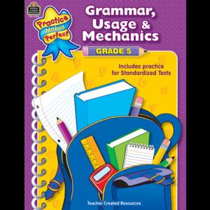 TCR3780 Grammar, Usage & Mechanics Grade 5 Image