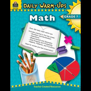 TCR3798 Daily Warm-Ups: Math Grade 7 Image