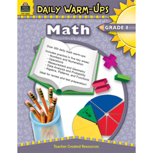 TCR3803 Daily Warm-Ups: Math Grade 8 Image