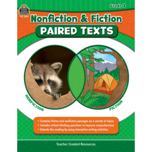 TCR3893 Nonfiction and Fiction Paired Texts Grade 3 Image
