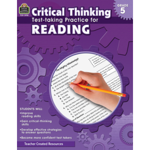 TCR3918 Critical Thinking: Test-taking Practice for Reading Grade 5 Image