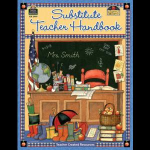 TCR3949 Substitute Teacher Handbook Image