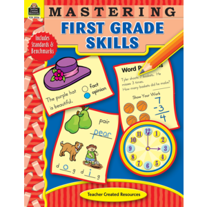 TCR3956 Mastering First Grade Skills Image