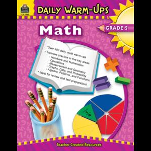 TCR3963 Daily Warm-Ups: Math, Grade 5 Image