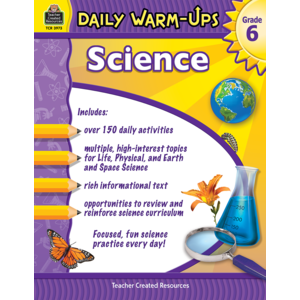 TCR3973 Daily Warm-Ups: Science Grade 6 Image