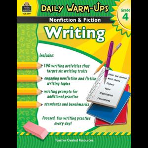 TCR3977 Daily Warm-Ups: Nonfiction & Fiction Writing Grade 4 Image