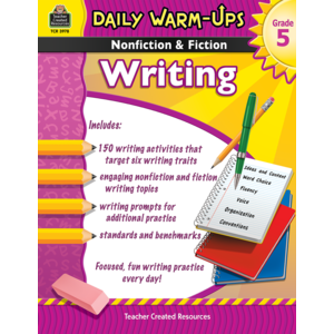 TCR3978 Daily Warm-Ups: Nonfiction & Fiction Writing Grade 5 Image