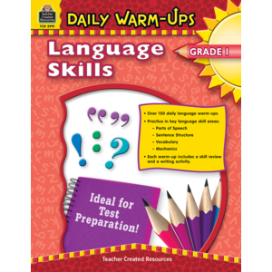 TCR3991 Daily Warm-Ups: Language Skills Grade 1 Image