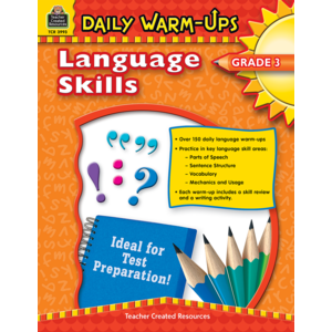 TCR3993 Daily Warm-Ups: Language Skills Grade 3 Image