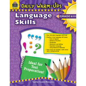 TCR3996 Daily Warm-Ups: Language Skills Grade 6 Image