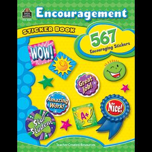 TCR4434 Encouragement Sticker Book Image