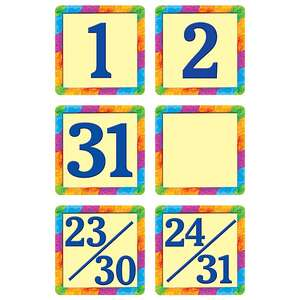 TCR4582 Rainbow Calendar Days Image