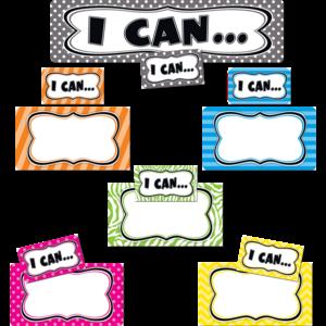 TCR4623 I Can...Mini Bulletin Board Image