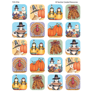 TCR4766 We Are Thankful Stickers from Debbie Mumm Image
