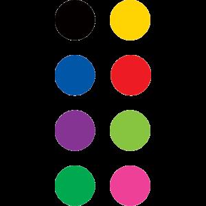 TCR4820 Colorful Circles Mini Stickers Image