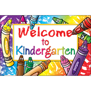 TCR4860 Welcome to Kindergarten Postcards Image