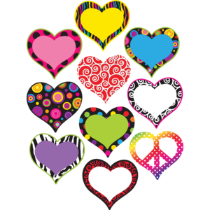 TCR5100 Fancy Hearts Accents Image
