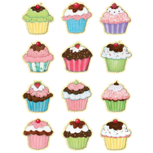 TCR5128 Cupcakes Mini Accents from Susan Winget Image