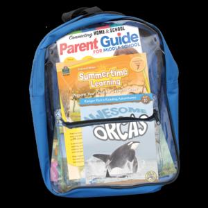 TCR51414 Preparing For Seventh Grade Backpack Image