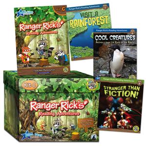 TCR51674 Ranger Rick's Reading Adventures Kit Level C Image