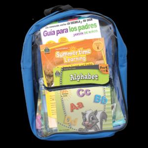 TCR51692 Preparing For Kindergarten Spanish Backpack Image