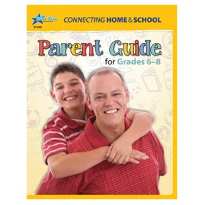 TCR51762 Connecting Home & School: A Parent's Guide Gr 6-8: 6-Pack Image