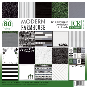 TCR5199 Modern Farmhouse Project Paper Image