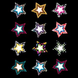 TCR5216 Fancy Stars Mini Accents Image