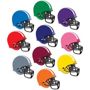 TCR5286 Football Helmets Accents Image