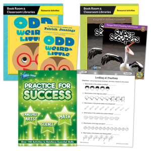 TCR53199 Practice for Success Pack Level D (Grade 3) Image
