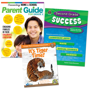 TCR53438 Second Grade Success Pack Image