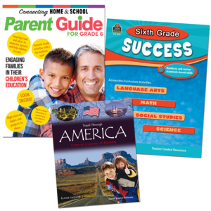 TCR53442 Sixth Grade Success Pack Image