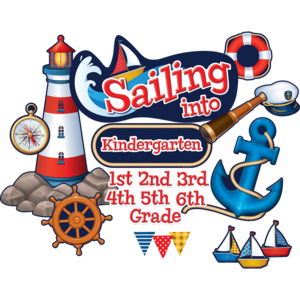 TCR5440 Sailing Into...Bulletin Board Display Set Image