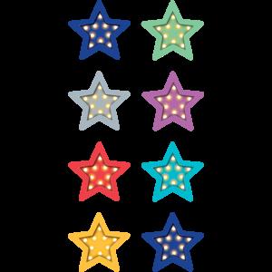 TCR5441 Marquee Stars Mini Stickers Image